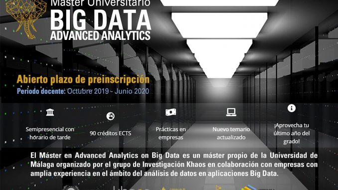 master big data malaga